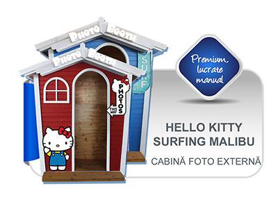 Surfing Malibu & Hello Kitty